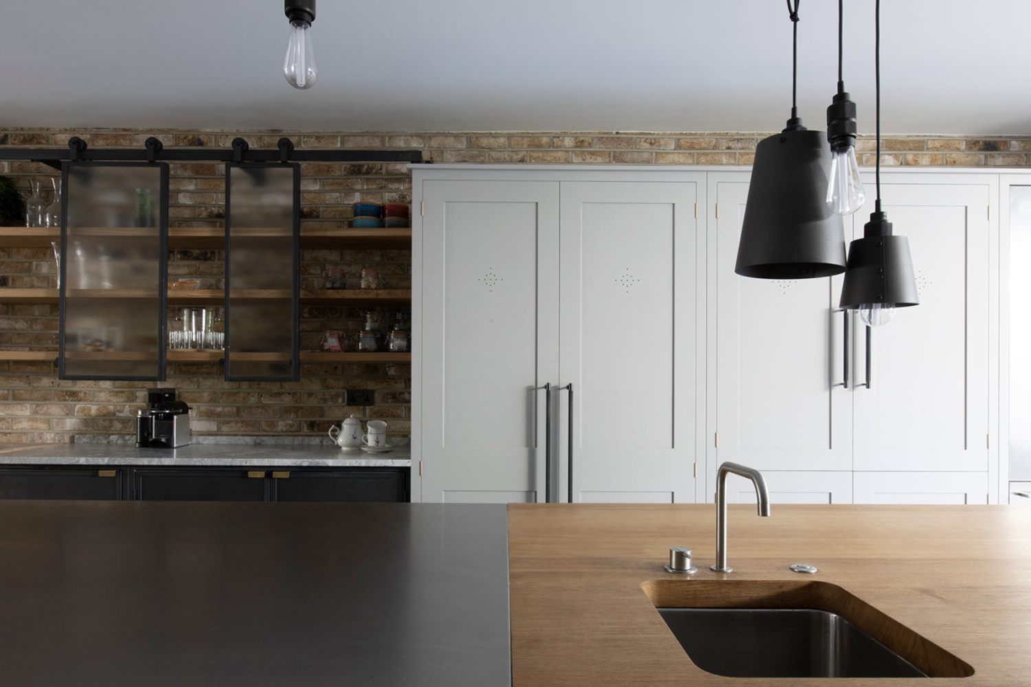 Town House Kitchen, Hampstead, Plain English