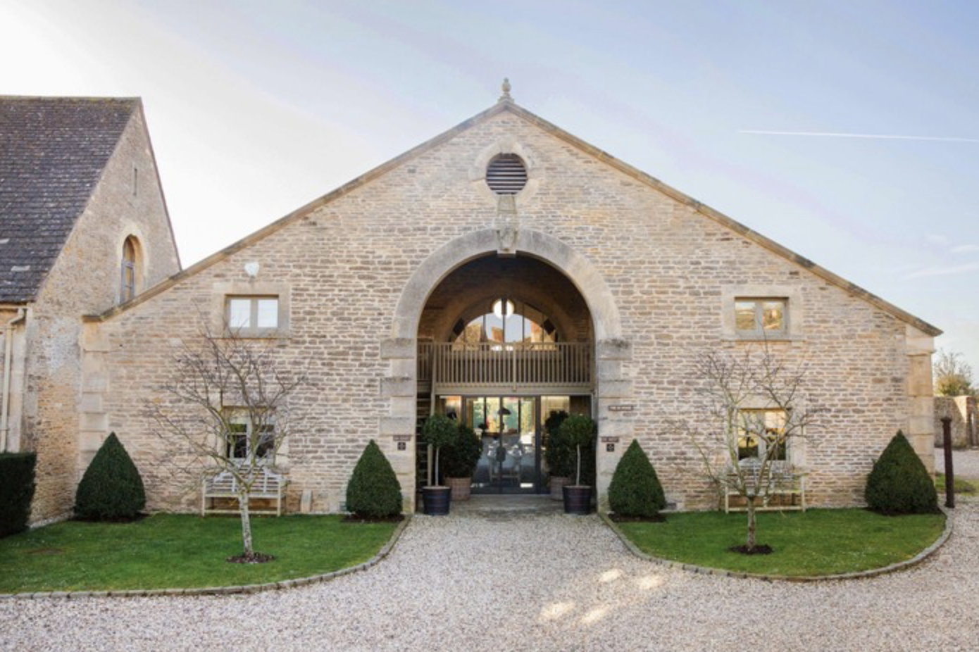 Ox Barn restaurant, Thyme in Southrop, The Cotswolds